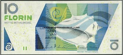 Picture of Aruba,P16b,B116b,10 Florin,2008