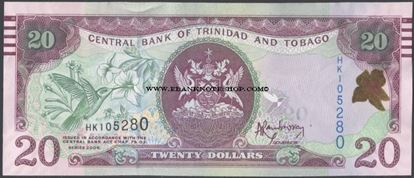 Picture of Trinidad & Tobago,P49A,B232,20 Dollars,2006