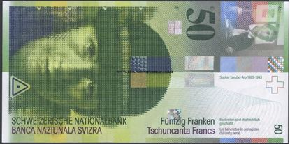 Picture of Switzerland,P71,50 Francs,2012