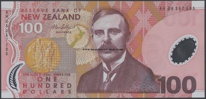 Picture of New Zealand,P189,B135c,100 Dollars,2006