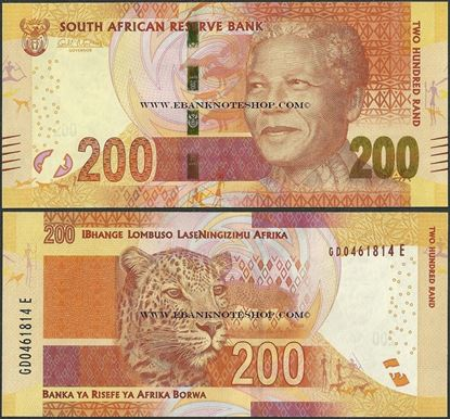 Picture of South Africa,P142,B771a,200 Rands