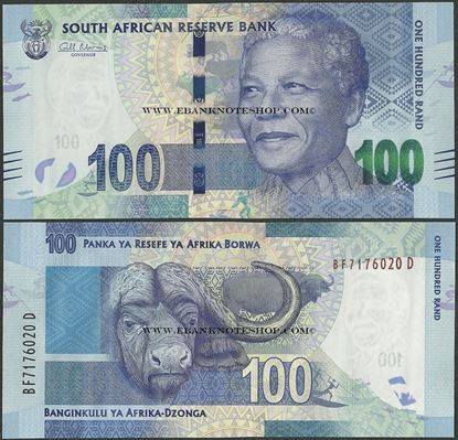 Picture of South Africa,P136,B765a,100 Rands