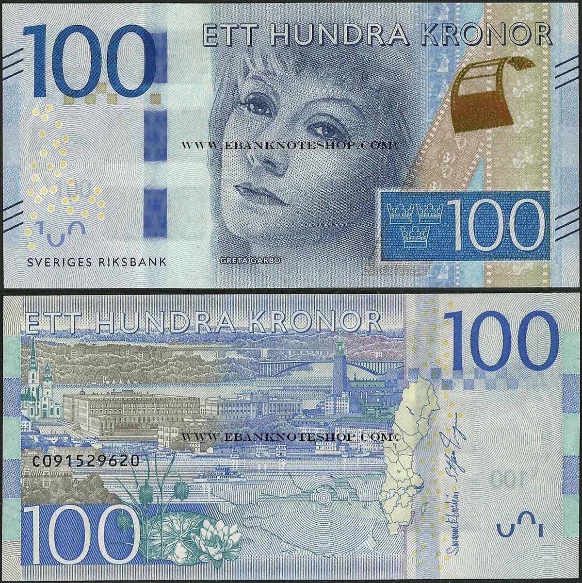 100 sek in euro