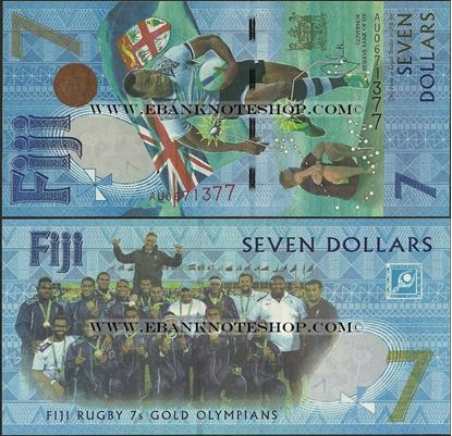 Picture of Fiji,B531,7 Dollars,2017,Comm