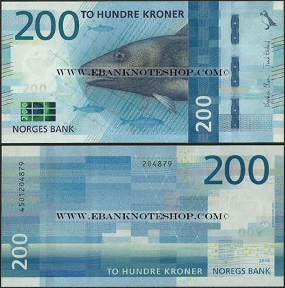 Picture of Norway,P55,200 Kroner,2017