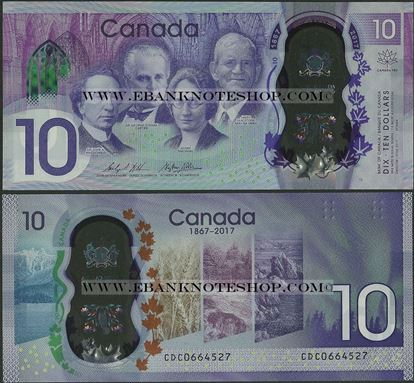 Picture of Canada,B377,10 Dollars,2017
