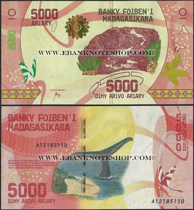 Picture of Madagascar,B337,5000 Ariary,2017