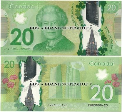Picture of Canada,P108,B373b,20 Dollars,Sg 17
