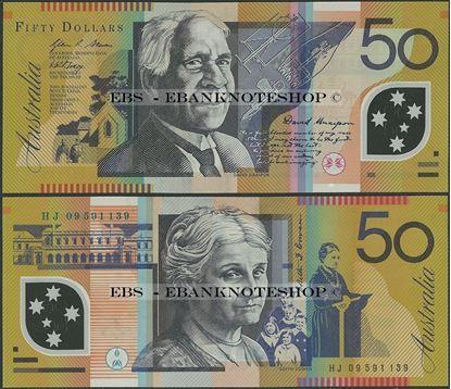 Picture of Australia,P60g,B228g,50 Dollars,2009
