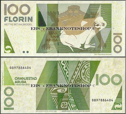 Picture of Aruba,P19c,B119c,100 Florin,2012