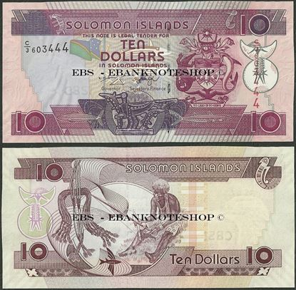 Picture of Solomon Islands,P27,B217b,10 Dollars,2009
