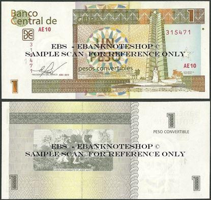 Picture of Cubao,PFX46,BFX905e,1 Convertible Peso,2013