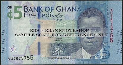 Picture of Ghana,B154,5 Cedis,2017