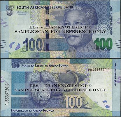 Picture of South Africa,P141b,B770b,100 Rands