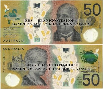 Picture of Australia,B233a,50 Dollars,2018