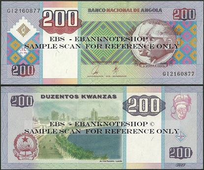 Picture of Angola,P148, B539,200 Kwanzas,2003
