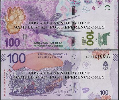 Picture of Argentina,B419,100 Pesos,2018