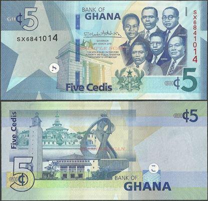 Picture of Ghana,B156,5 Cedis,2019