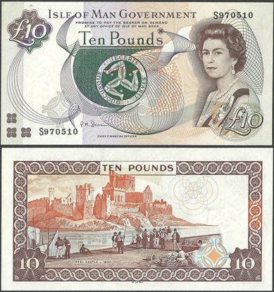 Picture of Isle of Man,P44,B116d,10 Pounds,2011,T