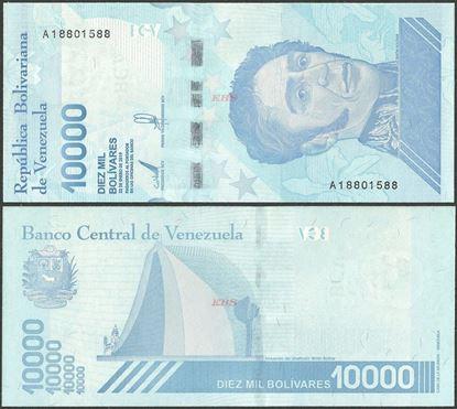 Picture of Venezuela,B379a,10 000 Bolivares,2019