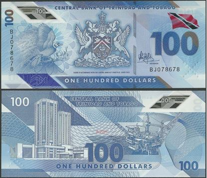 Picture of Trinidad & Tobago,B241,100 Dollars,2019
