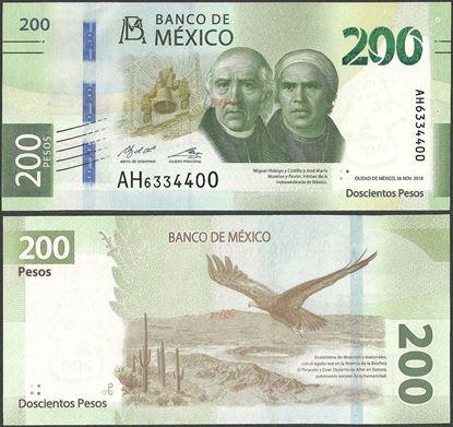 Picture of Mexico,B716b,200 Pesos,2018,Sg 2,AH/AJ