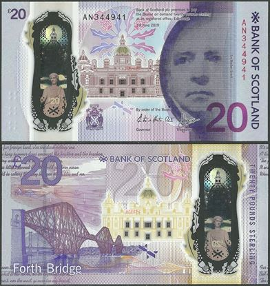 Picture of Scotland,20 Pounds,2019,BoS