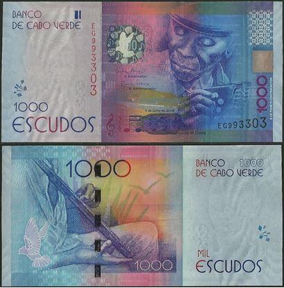 Picture of Cape Verde,P73,B219,1000 Escudos,2014