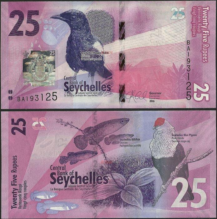 P-42 2011 UNC /> Hologram Seychelles 50 rupees