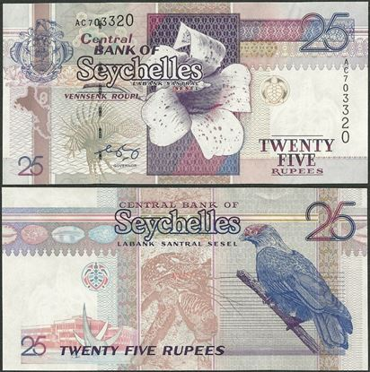 Picture of Seychelles,P37,B410b,25 Rupees