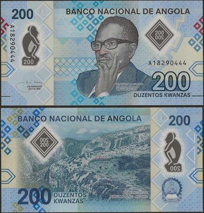 Picture of Angola,B557,200 Kwanza,2020