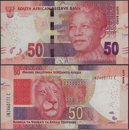 Picture of South Africa,P140b,B769b,50 Rands