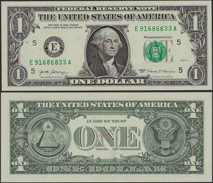 Picture of USA ,P544,1 Dollar,Richmond VA -E,2017