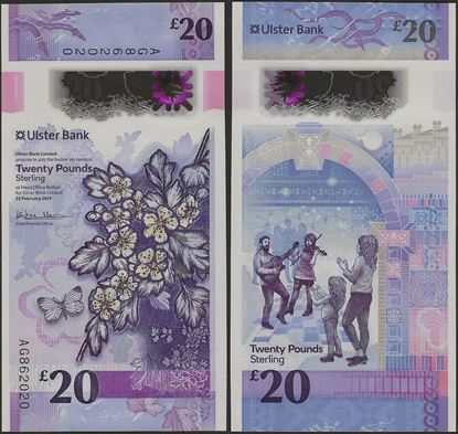 Picture of Northern Ireland,PNL,B941a,20 Pounds,2020,Ulster