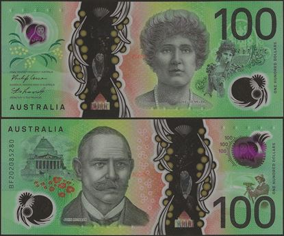 Picture of Australia,B234,100 Dollars,2020