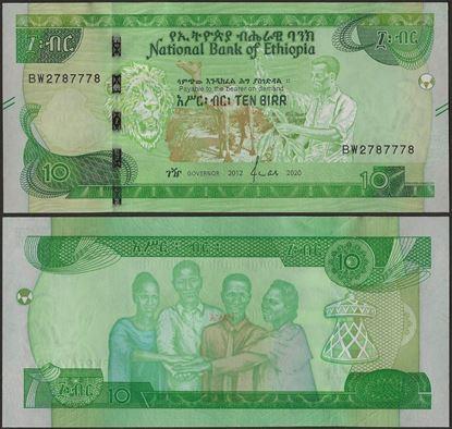 Picture of Ethiopia,B335,10 Birr,2020
