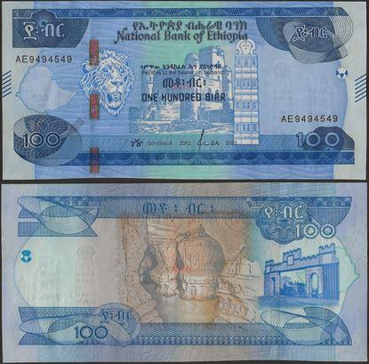 Picture of Ethiopia,B337,100 Birr,2020