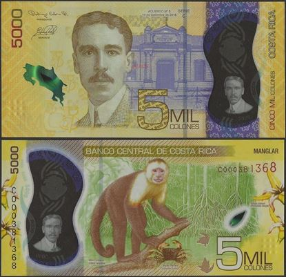Picture of Costa Rica,B566,5000 Colones,2020