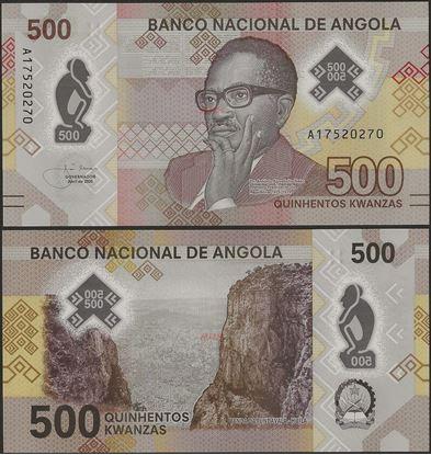 Picture of Angola,B558,500 Kwanza,2020