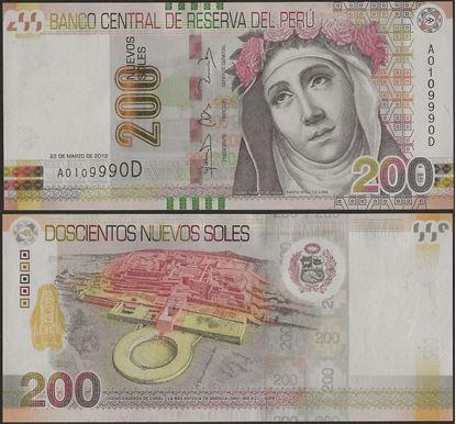 Picture of Peru,P191,B531,200 Nuevos Soles,2012