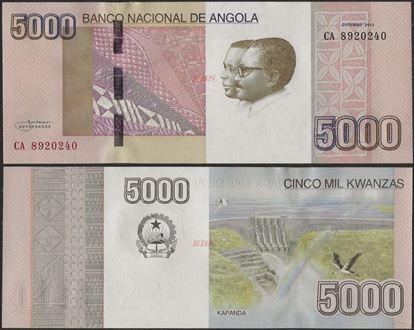 Picture of Angola,P158, B551,5000 Kwanzas,2012