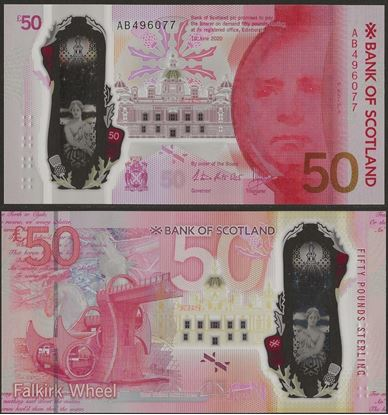 Picture of Scotland,50 Pounds,2020,BoS