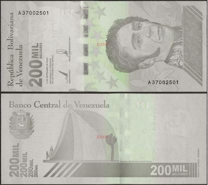 Picture of Venezuela,B382,200 000 Bolivares,2020
