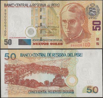 Picture of Peru,P180b,B515b,50 Nuevos Soles,2006